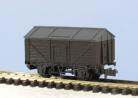 Peco N Gauge Wagon Kit KNR-120 - 10ft Wheelbase Salt Wagon