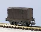 Peco N Gauge Wagon Kit KNR-20 - 10ft Wheelbase Conflat Wagon (single plank)