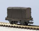 Peco N Gauge Wagon Kit KNR-20 - 10ft Wheelbase Conflat Wagon (single plank)
