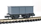 Peco N Gauge Wagon Kit KNR-208 - 9ft Wheelbase BR 27T Iron Ore Tippler Wagon