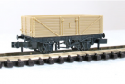 Peco N Gauge Wagon Kit KNR-220 - 9ft Wheelbase 7 Plank Open Wagon