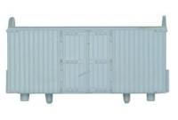 Peco N Gauge Wagon Kit KNR-42 - 10ft Wheelbase Refrigerator Box Van