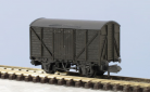 Peco N Gauge Wagon Kit KNR-43 - 10ft Wheelbase Standard Box Van