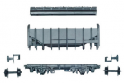 Peco N Gauge Wagon Kit KNR-67 - 15ft Wheelbase Whisky Grain Wagon