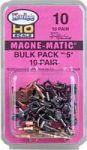 Kadee 10 - NO. 5® Bulk Pack Couplers (w/o Draft Gear Boxes)
