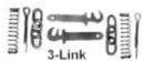 Romford - 4mm 3 Link Couplings