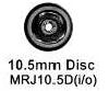 Romford 4mm - 10.5mm Tender Disc (price per axle)