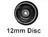 Romford 4mm - 12mm Plain Disc Wheel (price per axle)