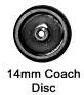 Romford 4mm- 14mm Plain Disc (price per axle)