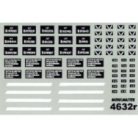 Modelmaster Decals - Ex S.N.C.F. & Ex M.O.S. Cupboard Door & Slope Sided 16T Mineral Wagons
