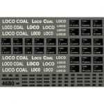 Modelmaster Decals - B.R. Loco Coal Wagons.