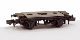 Peco N Gauge Chassis Kit NR-121D - 10ft Wheelbase Chassis Kit - Steel-type sole bars with disc wheels