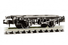 Peco N Gauge Chassis Kit NR-121B - 10ft Wheelbase Brake Van Chassis with steel type solebars