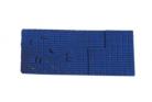 Peco N Gauge Wagon Loads NR-202B - Bricks - Blue