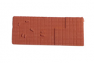 Peco N Gauge Wagon Loads NR-202T - Bricks - Terracotta