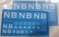 Old Time Workshop 7mm Dec als - North British Rly Freight Insignia 1880-1923