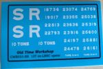 CMR033 (SR) - Old Time Workshop 4mm Decals - ex-LBSC 10T Wagons SR Livery