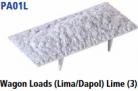 Parkside Models PA01(L) - Wagon Loads (Lima, Dapol etc.) - Pack of Three Same Type :- Limestone