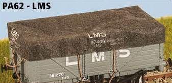Parkside Models 4mm Tarps - LMS (pack of 8)