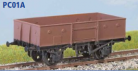 Parkside Models PC01A - BR 13 Ton Steel Open Goods Wagon