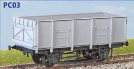 Parkside Models PC03 - BR 21 Ton Coal Wagon