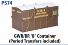 Parkside Models PS74 - GWR/BR 'B' Container