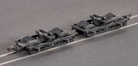 Parkside Models (ex Ratio 107) MR 10 feet Coach Bogies and Wheels