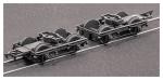 Parkside Models (ex Ratio 108) LNWR 8 feet Coach Bogies and Wheels
