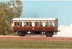 Parkside Models (EX Ratio 612) - GWR 4 Wheel  Composite Coach