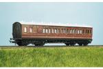 Parkside Models (EX Ratio 713) - LMS (exMR) 48ft Suburban Brake 3rd 6 Compartment Coach