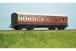 Parkside Models (EX Ratio 714) - LMS (exMR) 48ft Suburban Brake 3rd 4 Compartment Coach