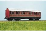 Parkside Models (EX Ratio 722) - LMS (ex MR) Clerestory Composite Coach
