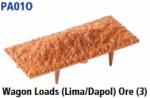 Parkside Models PA01(Ore) - Wagon Loads (Lima, Dapol etc.) - Pack of Three Same Type :- Ore
