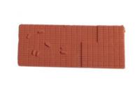 Peco N Gauge Wagon Loads NR-202T - Bricks - Terracotta