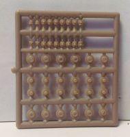 Ratio Plastic Models - 4mm Lamp & Ventilator Tops