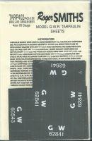 Roger Smith - 4mm GWR Wagon Tarpaulin Sheets