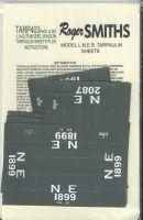 Roger Smith - 4mm LNER Wagon Tarpaulin Sheets