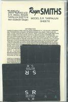 Roger Smith - 4mm S.R. Model wagon Tarpaulin Sheets