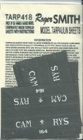 Roger Smith - 4mm Cambrian Railway Wagon Tarpaulin Sheets
