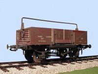 Slaters 7mm Wagon -  BR Shock Absorbing Open Wagon