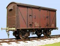 Slaters 7mm Wagon - BR 12 Ton Vanwide