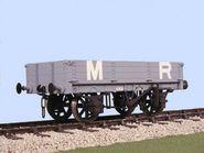 Slaters 4029 - MR 8 Ton 3 Plank Wagon