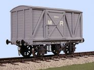 Slaters 4030 - MR 8 Ton Box Van (Decals Included)