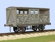 Slaters 4031 - MR Cattle Wagon  (Decals Included)