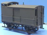 Slaters 4043 - NER/LNER Birdcage Brake Van (Decals Included)