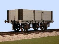 Slaters 4044 - Gloucester 5 Plank Side PO Door Wagon