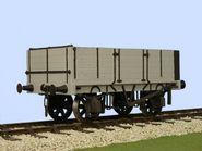 Slaters 4055 - Gloucester 5 Plank PO Side & End Door Wagon
