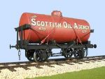 Slaters 70138S - 7mm Decal - Scottish Oil Agency