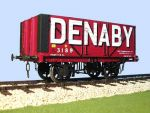 Slaters -Private Owner - 'Denaby' 8 Plank RCG 1923 Side End Door