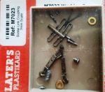 Slaters 7mm - Screw Link Couplings (pair)